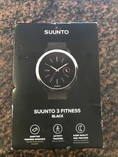 Suunto 3 Fitness Robust and Smart Fitness Watch Black Brand New In Box