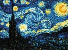 Cross stitch kit 1088 Starry Night after Van Gogh's Painting, Riolis
