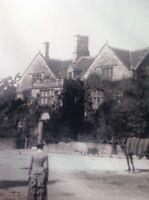 Ephemera Book Reprint Picture The Peacock Inn Rowsley 1886 M48