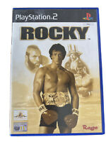PLAYSTATION PS2 Game: ROCKY, GC. Tested. PAL. Free Postage!