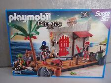 Playmobil Super Set Pirates 6146 Piratenfestung - Neu & OVP