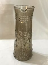 Large Martini Cocktail (Le Fluer Pattern) Glass Pitcher 11 3/4� Tall - See Pics