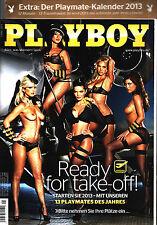 Playboy  01/2013 ALEXA VARGA, Udo Lindenberg + Playmate-Kalender