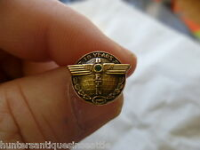 BOEING 10k G.F. 15 yr Employee  Service Pin Totem Pole style Tie-tac back