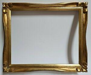 Cadre Tableau en Bois doré des années 50/60 Dimensions logement : 30,2 x 24 cm.