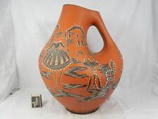 Rare XXL 50´s Design Marzi & Remy jarrón de cerámica 2012/40 2 handpainted Ladies