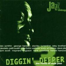 DIGGIN 'DEEPER-The Roots of Acid Jazz (1998) 3: LALO SCHIFRIN, George ben... [CD]