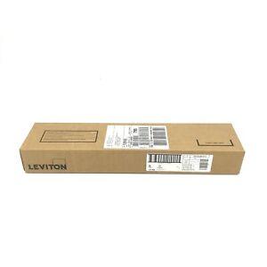 Leviton 5G596-U12 Universal Patch Panel 12 Port Cable Bar #8454