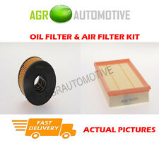 DIESEL SERVICE KIT OIL AIR FILTER FOR FORD TRANSIT 350 2.4 90 BHP 2001-06