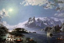 John Stobart Print - Tierra Del Fuego: Centennial Tribute To Capt. Joshua Slocum