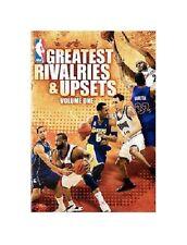 NBA GREATEST RIVALRIES & UPSETS RARE DVD BASKETBALL LEBRON,KOBE,LAKERS,CELTICS
