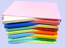 25 fogli Sample Pack A5 CARD STOCK 160gm tutti i colori diversi