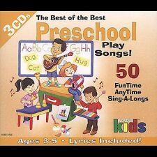 Various Artists : Best Of Best: Preschool Play Songs CD