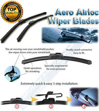 2x Windscreen Wiper Blades Limpiaparabrisas Nissan Stanza 1986-1993