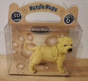 Shar Pei Pet 3-D Puzzle - 23 piece Figurine Dog - NEW!