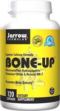 Jarrow Formulas BONE-UP, 120 caps BONE DENSITY SUPPORT, Vitamin D3 & K2 (MK-7)