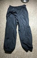 MENS COLUMBIA NYLON BLACK SKI PANTS SIZE XL SNOW