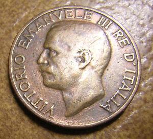 COIN 10 CENTESIMI VITTORIA EMALUELE III 1934