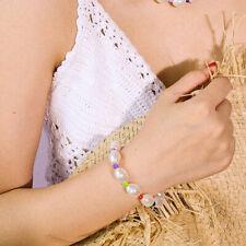 Boho Baroque PearL Bracelets Multicolor Bead Bangle Charm Women Jewelry GiftJji