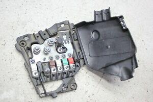 Citroen C3 Bj.11 Sicherungskasten Batterieklemme Batterie Klemme 9801147680