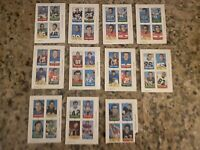 1969 topps 4 in 1 football mini cards Lot Of (44)