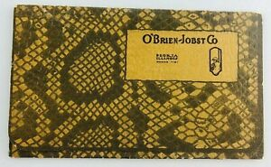 O'Brien-Jobst Company Peoria Illinois IL Worsted Tex:The Gallery Suits 1920's