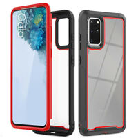 For Samsung Galaxy S20 Ultra Plus S10 Hybrid Shockproof Rugged Clear Phone Case