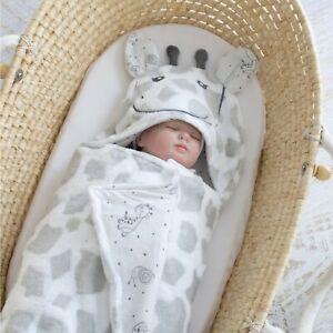 BUBBA BLUE HOODED NOVELTY BLANKET/baby blanket