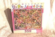Koumelange The Fine Art of Collage Jigsaw Puzzle Symphonic Tapestry Sealed 1997