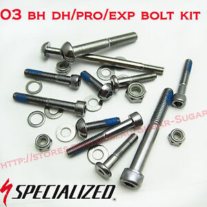 - New - Specialized 03 BH / Pro / Exp Bolt Kit - 9893-5125