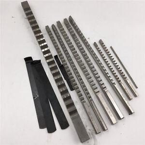 HSS Keyway Broach Metric/Inch Size 3/4/5/6/8/10/12/14/16/18mm Metalwork Cutter
