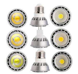 220V 110V Dimmable MR16  GU10 E27 E26 15W LED SpotLight COB Bulb High Power Lamp