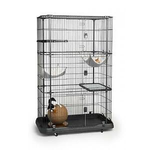 Prevue Pet  Premium Cat Home with Four Levels #7500