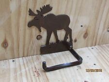 Moose Toilet Paper Holder Rack Western Rustic Home Bathroom Decor