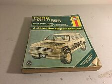 Haynes 1991-1995  Ford Explorer & Mazda Navajo Automotive Repair Manual