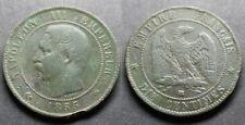 Napoléon III, 10 centimes 1855 BB (Strasbourg)