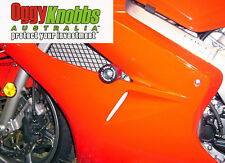 OK548 VFR800 2002-09 OGGY KNOBBS NO CUT KIT (Black Knobbs) Frame Sliders