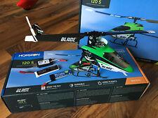 Horizon RC Elicottero E-Flite Blade 120s Safe, BNF-Set con 2x LiPo + terne! NUOVO
