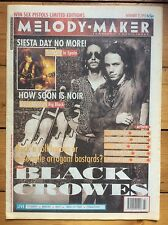 Melody Maker 21/11/92 The Black Crowes cover, Shonen Knife, Steve Albini