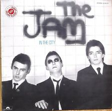 """THE JAM """"IN THE CITY"""" LP 1984/MOD/SPAIN/VERY RARE/VG+"""
