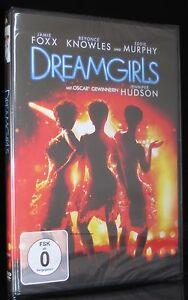 DVD DREAMGIRLS - JAMIE FOXX + BEYONCE + EDDIE MURPHY + DANNY GLOVER *** NEU ***