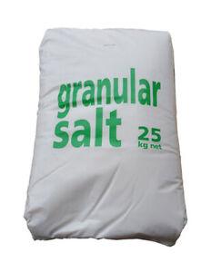 GRANULITE GRANULAR SALT | 25KG | Water Softener Dishwasher Food Grade Granules