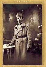 Cpa Carte Photo 19e RI infanterie de Brest Raymon Deman m042