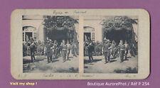 PHOTO VUE STÉRÉO : TARBES, VOYAGE DU PRÉSIDENT, ARSENAL, MILITAIRES -P254