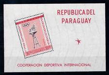 [72367] Paraguay 1962 Olympic Games Tokyo Souvenir Sheet MNH