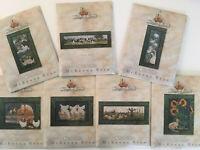 """McKenna Ryan """"Storybook Farm"""", 7 Quilt Patterns, Blocks 2-8 of Multi-Block Quilt"""