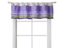 Trend Lab Rainbow Floral Purple Window Valance 56 x 15 - New