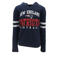 New England Patriots Official NFL Youth Juniors Size Hooded Sweatshirt New Tags