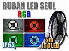 Ruban 150 LED RGB 5 mètres étanche IP65 SMD5050