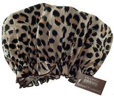 Hydrea London LEOPARD Print Luxury Eco-Friendly Shower Cap: One Size Fits Most